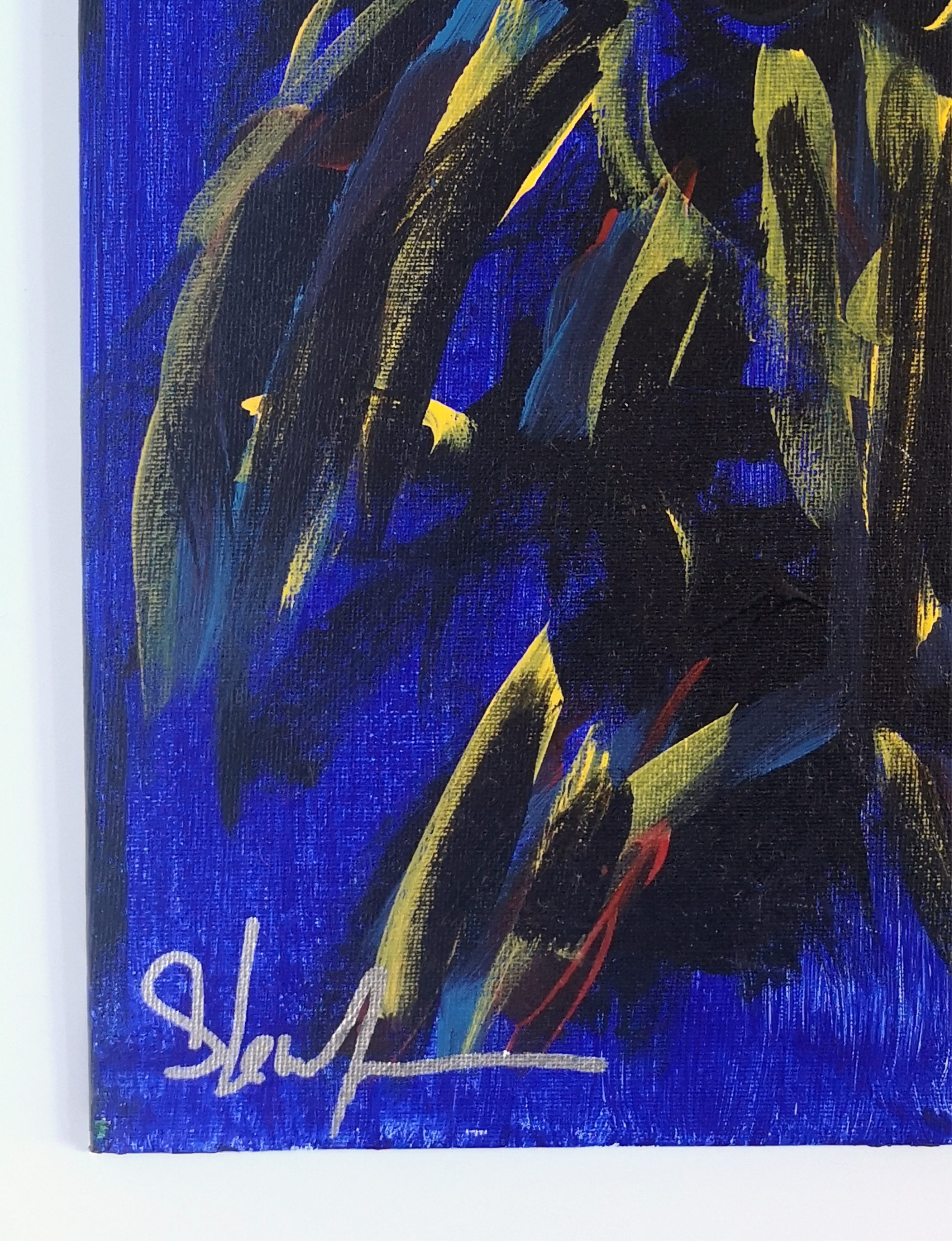 original painting by Steve Wynn of The Dream Syndicate - signed artwork